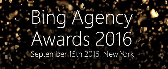 Bing Agency Awards 2016