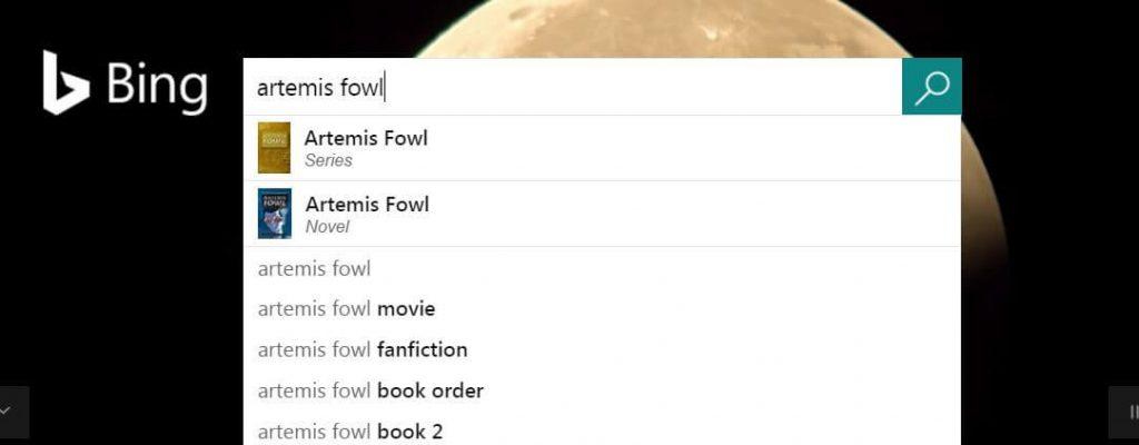 Bing image thumbnails