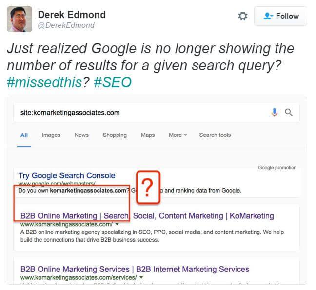 Derek Edmond tweet