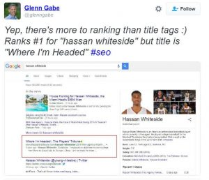 Glenn Gabe Search Result