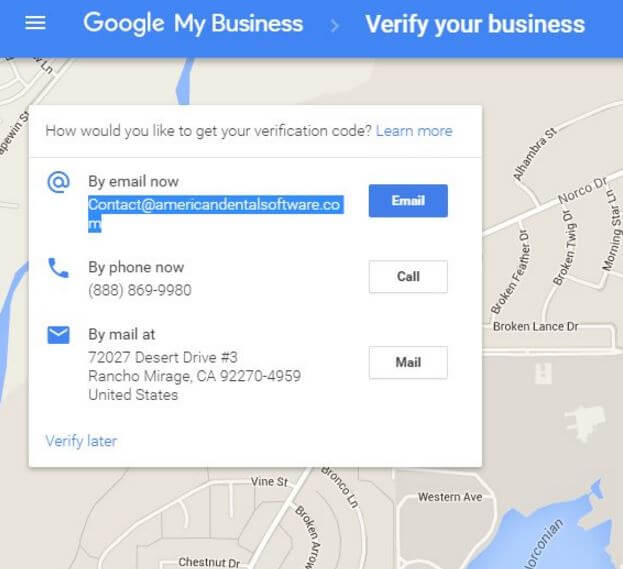 Google Email Verification