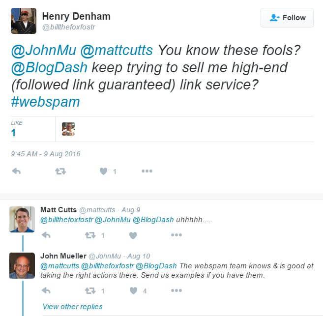 Blogdash Tweet
